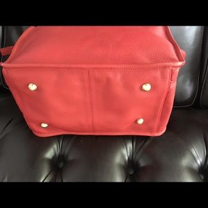 Boden Bags - BODEN Red/Pink Leather Shoulder & CrossBody Bag